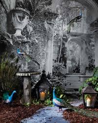 halloween forest background cabinet of curiosities halloween party martha stewart