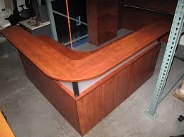 Plywood Reception Desk Pre Owned Reception Desk