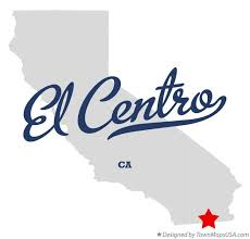 california map el centro map of el centro ca california