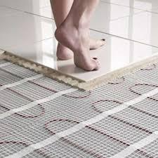 how to install underfloor heating l essenziale