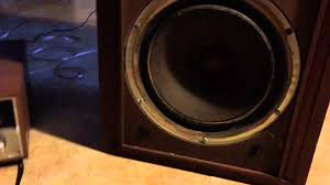 klh home theater system klh model 23s youtube