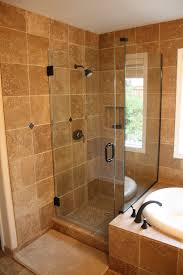 small bathroom ideas with separate bath and shower