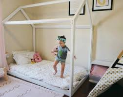 Beds For Kids Rooms by House Bed Frame Etsy