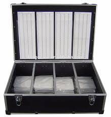 1000 cd dvd aluminum storage case 1000 cd dvd aluminum storage