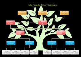 free my family tree template for kids templates at