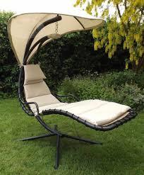Trully Outdoor Wicker Swing Chair by Black Dream Chair Garden Hammock Canopy Swing Sun Lounger Sun Seat