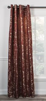 Floral Lined Curtains Inspiring Meadow Open Floral Print Lined Tie Up Valance Window