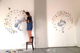 dancing cranes on the wall in yoga studio hillegersberg lilian dancing cranes on the wall in yoga studio hillegersberg lilian leahy illustrations