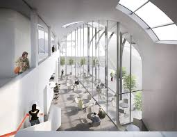 Aecom Interior Design Gallery Of Competition Entry Aecom Proposes Transport Center For