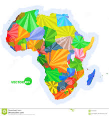 Africa Map by Map Of Africa Concept Map With Countries Colorful Africa Map
