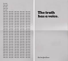the new york times has the new york times made a simple powerful tv spot about reporting