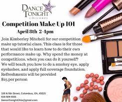 makeup classes columbus ohio make up 101 tonight columbus ballroom and fitness center