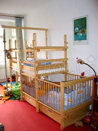 Bunk Bed With Crib On Bottom by Best Loft Bed With Crib Underneath 30 On Interior Decor Minimalist