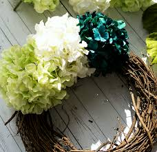 How To Make Wreaths How To Make A Hydrangea Wreath