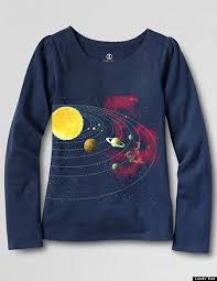 themed t shirts lands end announces science themed tees for after s