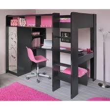 chambre combiné fille lit combiné bureau fille lit combin et bureau enfant praline lit