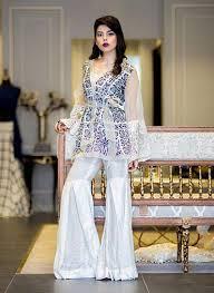 latest party wear short shirt with sharara designs u2013 fashioneven