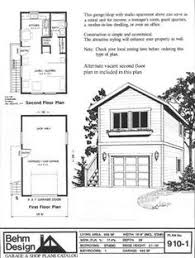 Garage Floor Plans With Loft Two Story One Car Garage Apartment Historic Shed Tiny