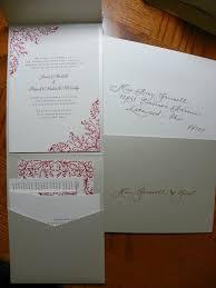 pocket invites pocket invites jacksonville fl calligraphy for weddings