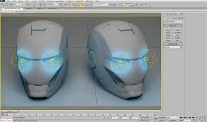 modelling iron man helmet using 3ds max weapons 3d sphere 3ds