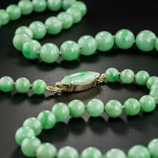 natural bead necklace images Natural jadeite bead necklace jpg