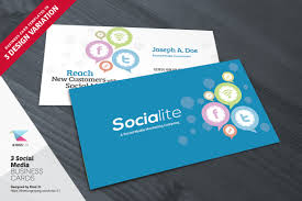 social media brochure template 3 social media business card templates by kinzi 21 thehungryjpeg