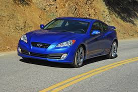 hyundai genesis track edition 2010 hyundai genesis coupe track edition review test drive