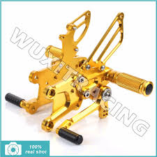 honda cbr 600 yellow gold rearsets picture more detailed picture about gold rearsets