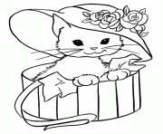 tiger kitten coloring pages printable