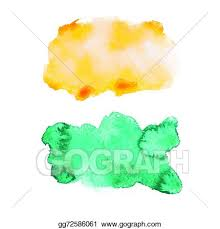 100 watercolor paint splashes vector abstract watercolor