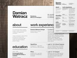 resume modern fonts exles of personification for kids 9 best creative resumes images on pinterest resume format