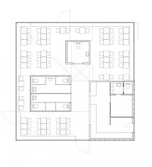 Architecture Floor Plan Cafe Pavilion Martenson And Nagel Theissen Architecture