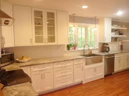 annapolis kitchen renovation features cliqstudios dayton painted