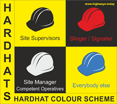 Colour Scheme Hard Hat Colour Scheme Introduced By Highways England Highways Today