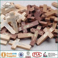 wood crucifix bulk jesus imprinted wood crucifix rosary cross religious wooden