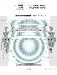 Tre Map Tcu Place Sid Buckwold Theatre Seating Map