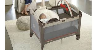 Playpen Bassinet Changing Table Large Graco Playpen With Bassinet And Changing Table Rs Floral