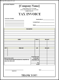 download tax invoice template free word rabitah net