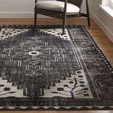Persian Rugs Nz Anice Black Oriental Rug Crate And Barrel