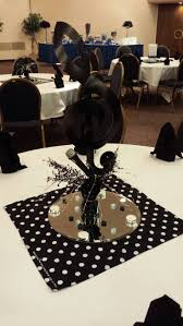 Music Party Theme Decorations Creative Idea Table Party Decor With Creative Tall Black Cd Decor