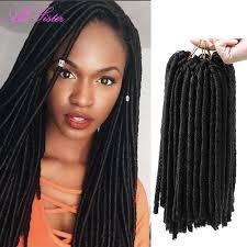 extension braids soft locs crochet braid hair faux locs ombre braiding hair