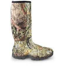Top To Toe Guide Gear Men U0027s Wood Creek Insulated Rubber Hunting Boots 1 000