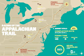 Appalachian Trail Map Pennsylvania by Scott Jurek Breaks Appalachian Trail Thru Hike Record Runner U0027s World