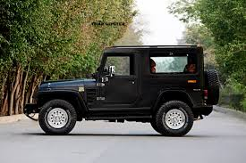 jeep hardtop custom azad 4x4 launches fiber hardtop solution for mahindra thar