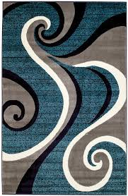 Area Rugs That Don T Shed by Amazon Com New Summit 032swirl Blue Navy White Light Gray Area