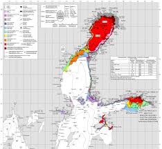 Baltic Sea Map Ice Chart Of Northern Baltic Sea As Of March 11th 2017 Finnish