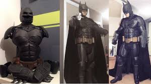 the ultimate arkham origins batman suit is fabricated using 3d
