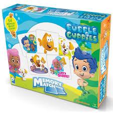 bubble guppies memory match game 047754132670 calendars com