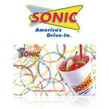 sonic gift cards buy sonic gift cards at giftcertificates