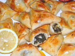cuisine libanaise recette recette libanaise fatayer aux épinards recette facile